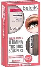 Belcils PACK Máscara Precisión Define y Alarga Negro, 12ml+Iluminador, 2.5ml