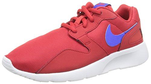 Nike Unisex-Kinder Kaishi (GS) Low-Top, Rot (604 University RED/Racer Blue-WHT), 36.5 EU