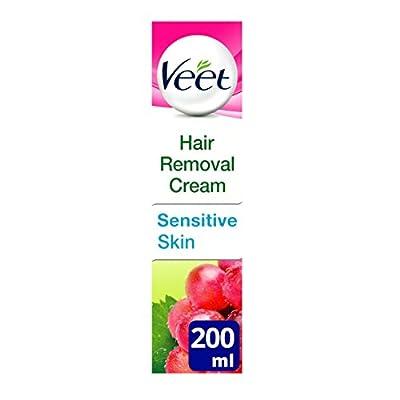 Veet Natural Inspirations Hair Removal Cream for Sensitive Skin, 200ml from Reckitt Benckiser