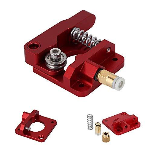 TUZUK Ender 3 extrusor, extrusor CR-10 de repuesto mejorado, extrusores de impresora 3D de alimentación de disco MK8 de aluminio para Creality ENDER3, CR-10, CR-10S, CR-10 S4, CR-10 S5