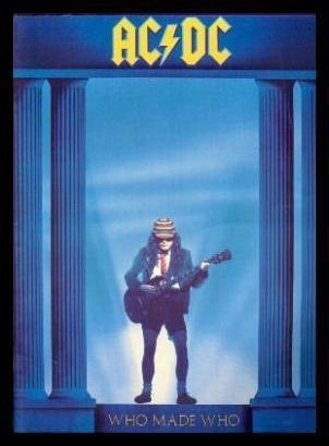 Who Made Who AC/DC Guitar book