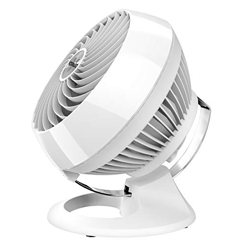 Vornado 460 Small Whole Room Air Circulator Fan with 3 Speeds, 460-Small, White