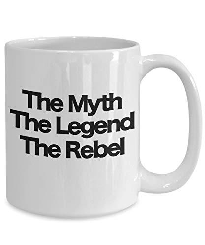 Irma00Eve De Mythe De Legende De Rebel Koffiemok Grappig geschenk voor Rebel Scum Star Wars Vlag Zuidelijke Alliantie