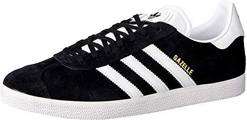 adidas Originals Gazelle - Zapatillas deportivas para Hombre, Negro (Negro), 43.5 EU