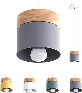 Luminaire Suspension Design Salon Cuisine Suspensions D'éclairage Intérieur Chambre Moderne Lustre Led Industriel En Fer E...