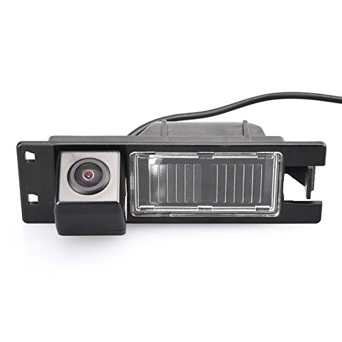 Misayaee Reversing Vehicle-Specific Camera Integrated in Number Plate Light License Rear View Backup camera for Alfa Romeo Brera Spider GTV 1995~2010