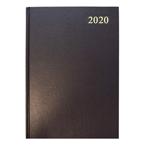 Collins Essential A4 Day to Page 2020 Diary - Black