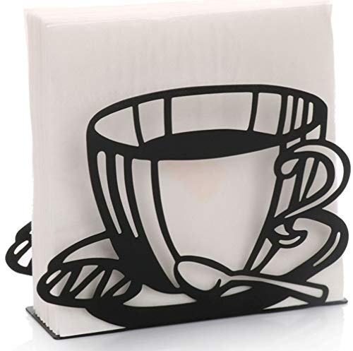 Coffee Cup Shaped Paper Napkin Holder Stand