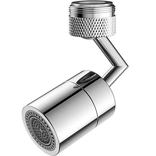 VINTAN Nuovo filtro universale per rubinetto antispruzzo per bagno, 2 modalità, filtro a rete a 4 strati, estensore per filtro schiumogeno regolabile per rubinetto da cucina