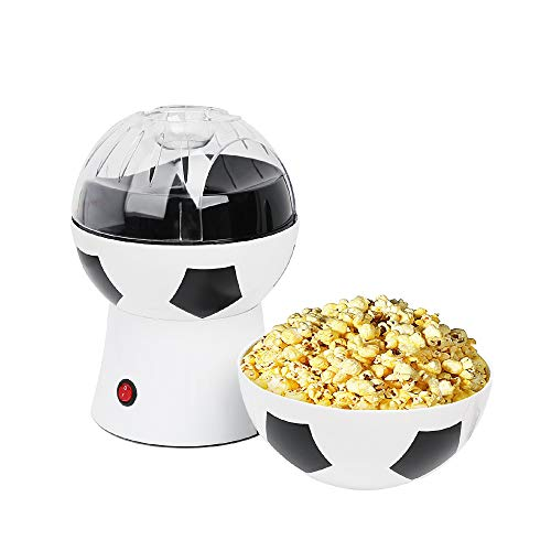 Review Of Air Popper Popcorn Maker, Fast Popping Hot Air Technology, Electric Machine, Oil-Free, Mea...