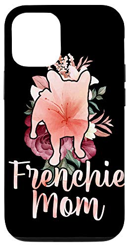 iPhone 12/12 Pro Florist Women Girls Gift Floral Frenchie Mom French Bulldog Case