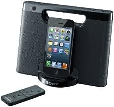 Sony RDPM7IPN Lightning iPhone/iPod Portable Speaker Dock (Black)