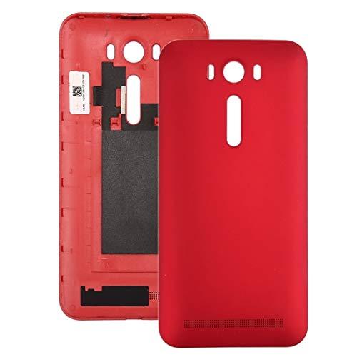 Los teléfonos celulares de reparación de Piezas Tapa de batería Trasera New para 5 Pulgadas ASUS Zenfone 2 Laser / ZE500KL (Color : Red)