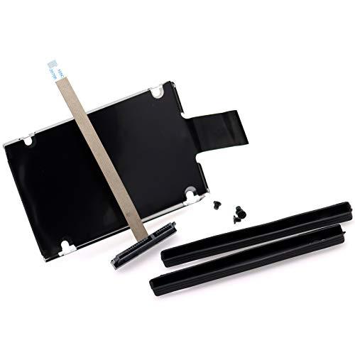 Deal4GO 2nd Second SATA Hard Drive Cable Connector w/ 2.5' SSD HDD Caddy Bracket for ASUS TUF Gaming F15 FX506 A15 FA506 FA506IV FA506IU FA706