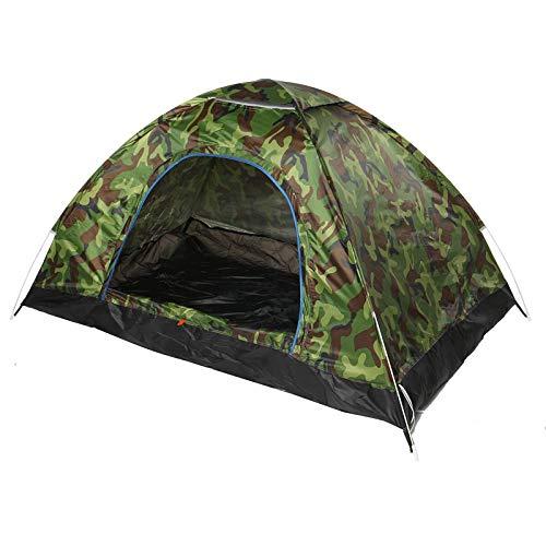 Tienda de campaña para 1 – 4 personas, automática, abierta, impermeable, resistente al viento, anti-UV, baldaquino ultraligero, viajes, senderismo, camping, al aire libre (tamaño: M; color: camuflaje)