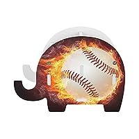火の野球 ペンスタンド 小さな象のペンホルダー多機能おしゃれ かわいい 象 鉛筆立て 携帯電話ホルダーデスクの装飾の木の象のペンホルダー文房具 ペンホルダー ペンスタンド 卓上 収納