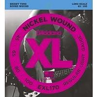 ダダリオ/D'Addario EXL170 Nickel Wound Bright Round Wound Electric Bass Strings/アクセサリー【並行輸入品】
