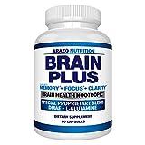 Premium Brain Function Supplement – Memory,...