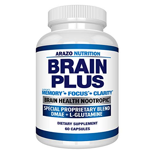 in budget affordable Premium Brain Function Supplement-Memory, Concentration, Clarity-Nootropic Booster with DMAE, Bacopa …