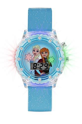 Disney Orologio Digitale Quarzo Bambina con Cinturino in Gomma FZN4087ARGSET