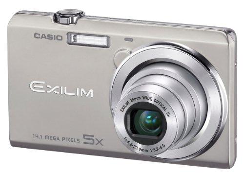Casio Exilim EX-ZS10 Digitalkamera (14 Megapixel, 5-fach opt. Zoom, 6,9 cm (2,7 Zoll) Display, HD-Video) silber