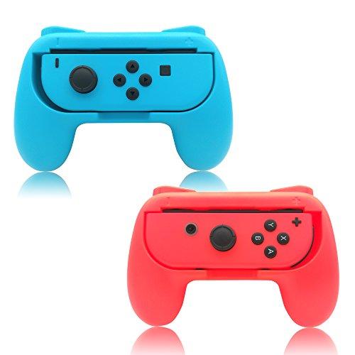 Comandos Joy-Con Fyoung (2 paquetes) para Nintendo Switch, comando Joy-Con resistente al desgaste para Nintendo Switch.