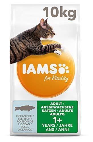 IAMS for Vitality Adult Katzenfutter trocken mit Seefisch 10kg