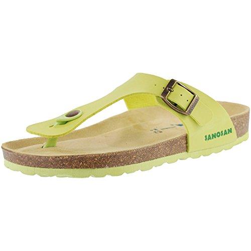 Sanosan Mens Sandals Aston Twin Buckle Sandal Beige New Size 10 Uk