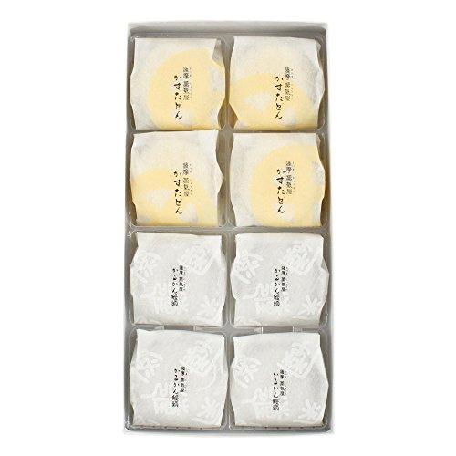 【 薩摩蒸気屋 】 かすたどん ・ かるかん饅頭 (各4個入)×2箱 セット 鹿児島 土産 の お菓子