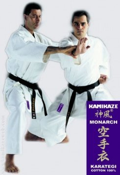 Kamikaze Monarch Kimono de karaté 175