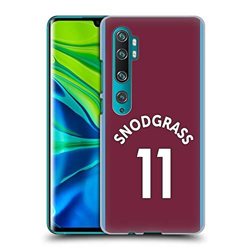 Officiële West Ham United FC Robert Snodgrass 2017/18 Spelers Home Kit Group 2 Hard Back Case Compatibel voor Mi CC9 Pro/Mi Note 10 / Pro