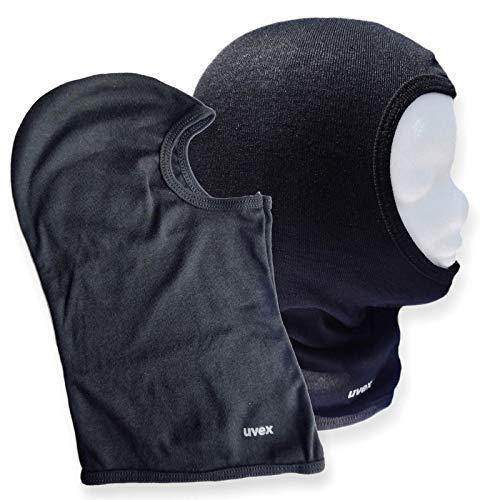 Uvex Motorrad Unisex Kopfhaube Sturmhaube Helmunterzieher Gesichtsmaske Farbe: schwarz