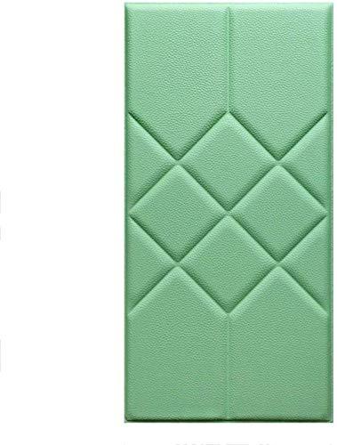 QIANCHENG-Cushion Tapete Weiche 3D-Wandpaneele Wandverkleidung Dekor Fliesen Wandaufkleber Zuhause Hintergrundwand Dekoration Antikollisions Selbstklebend Wandmatte, 5 Farben (Color : D, Size : 5pcs)