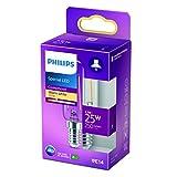 Philips - Bombilla LED cristal 25W T25L E14, transparente, no regulable