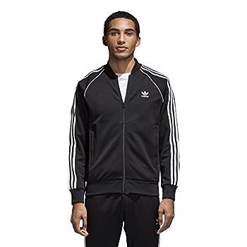 adidas Originals Men s Superstar Track Jacket Black XL