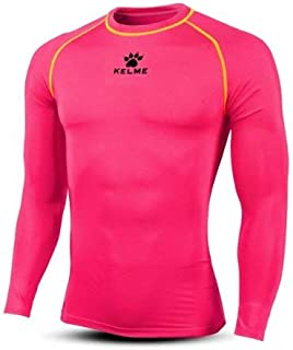 Kelme Men's Compression Shirt Base Layer Cool Dry Long Sleeve Tops