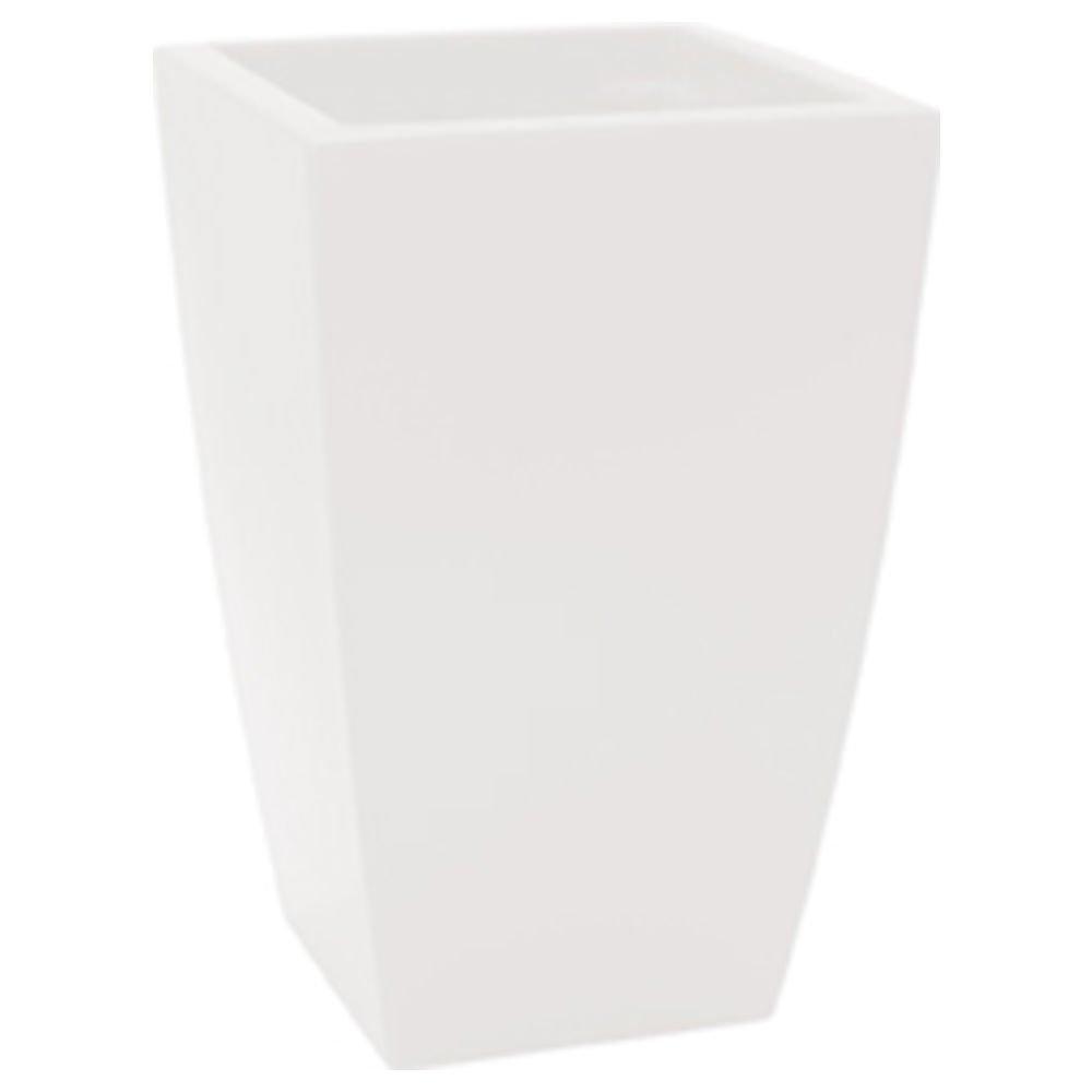 TERAPLAST Algarve–vaso trasparente 15x 15x 26cm colore