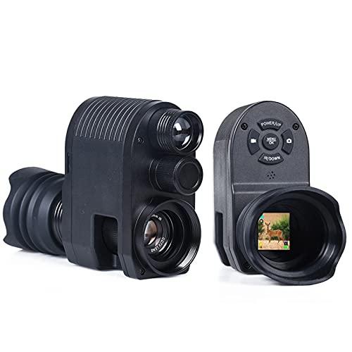 YIERSANSI Cámara de Alcance monocular de visión Nocturna Digital de 720p para una Oscuridad Completa, Alcance de Rifle de visión Nocturna con láser infrarrojo de 850 NM Megaorei 3