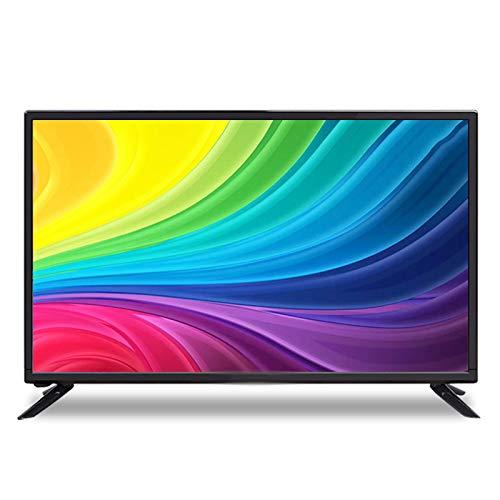 Zzmop Smart TV LED Ultra HD,TV de Alta Resolución HDMI Incorporada,Decodificación HDR,Ángulo de Visión Súper Amplio de 178°,para El Hogar,Comercial,Negro.