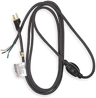 Power Cord, 5-15P, SJO, 8 ft, Blk, 10A, 18/3