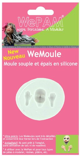 WePAM - PF07MB72 - WeMoule - Moule Silicone Visage Fin/Mains