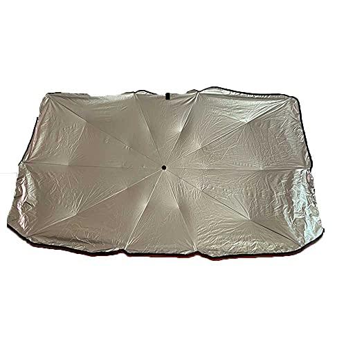 NASDIZL Paraguas de Coche, Protector Solar, Parasol con Aislamiento térmico, Parasol de estacionamiento, protección del Parabrisas,Aptopara Ford Mondeo Mk4SMax