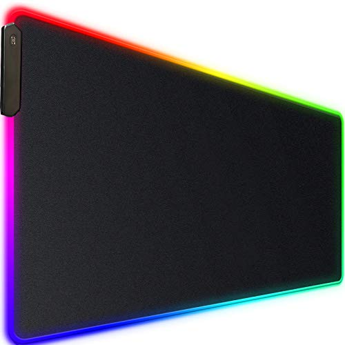 Large RGB Gaming Mouse Pad,Upgraded Extended...
