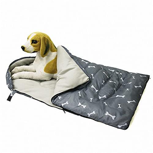 Camidy Hund Schlafsack Hund Bett Matte mit Lagerung Tasche Warme Gemütliche Hund Schlafsack Bett für Home Indoor Outdoor Reise Camping Aktivitäten