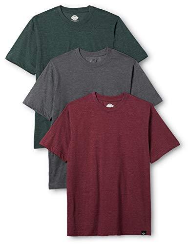 Dickies Hastings T-Shirt, Multicolore (Assorted), Medium (Taglia Produttore: Med'm) (Pacco da 3) Uomo