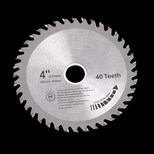 LFDHSF Sägeblätter Schneidsäge 4 Zoll Super Thin Turbo 1,5 mm Dicke Schneidscheibe Diamantsägeblatt für Fliesen Keramik Holz Aluminium Kreissägemaschinen, A.