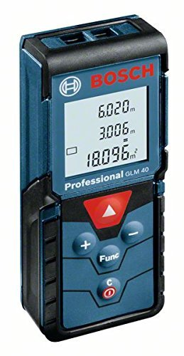 Bosch Professional GLM 40 Digital Laser Measure (measuring up to 40 metres) by Bosch