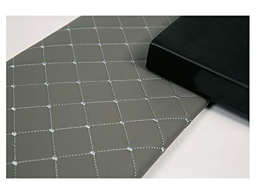 wangk Tela De Polipiel para Tapizar Tejido De Piel Sintética Piel Sintética para Tapizar Manualidades Cojines O Forrar Objetos Venta para reparación de sofás Costura -Cuadrado Gris 1.43x1m