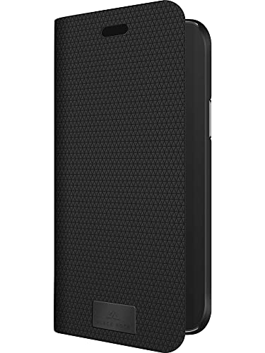 Black Rock - Hülle Booklet Klapphülle Hülle Passend für Apple iPhone 12/12 Pro I The Standard Handyhülle, 360 Grad Cover, Magnet Verschluss (Schwarz)