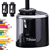 Best Electric Pencil Sharpeners - Tihoo Electric Pencil Sharpener, Battery Operated (Battery Not Review